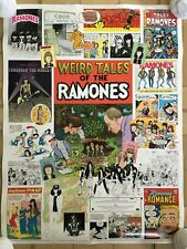 Weird Tales Of Ramones Record Company Promo Poster Rare 2005 Holmstrom Griffith