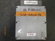03 FORD P/U F-150 5.4L ECU #3L3A-12A650-RB  F-0154 *See item description*