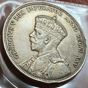 Canada Silver Dollar 1935 Very High Grade