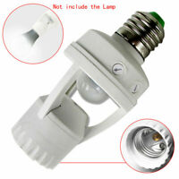 Screw Light Bulb Holder LED PIR Infrared Motion Sensor Lamp Switch Socket