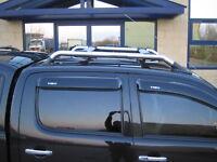 Roof Bar Kit rack for Toyota Hilux Mk6/7 Vigo Pickup chrome box new accessories