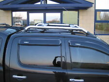 Kit De Barra Techo Rack Para Toyota Hilux Mk6/7 Caja de recogida Vigo Cromo Accesorios Nuevos