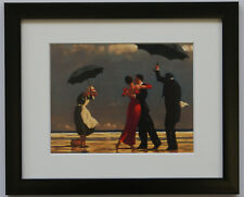 Jack Vettriano - The Singing Butler - Framed & Mounted Print Thin Black FREE P+P