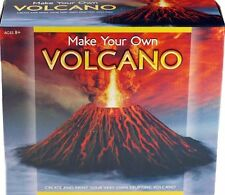 MAKE YOUR OWN VOLCANO SCIENCE MODEL KIT ERUPTING VOLCANO AGE 8+ TOY SET