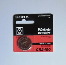 Sony Toshiba CR2450 CR 2450 ECR2450 3v battery Expire 2020 (Pack 1 pc.)