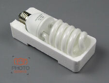 Light Bulb 30w - E27 5500k Fluorescent Energy Saving Lamp Photography CFL White
