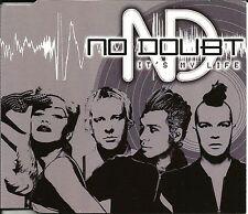 Gwen Stefani NO DOUBT It's My life 3 RARE LIVE TRX Australia CD single USA Seler