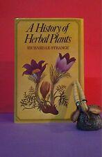 Richard Le Strange: A History of Herbal Plants/plant folklore/herbs/botany HBDJ
