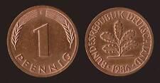 GERMANIA GERMANY 1 PFENNIG 1985 F