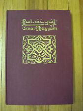 Rubaiyat of Omar Khayyam, E. Fitzgerald w/ Willy Pogany Illus. -1942