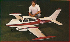 Giant Scale Bud Nosen Cessna 310 Plans, Templates & Instructions