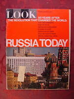 LOOK October 3 1967 RUSSIA ANN TURKEL NORMAN ROCKWELL