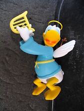 Grolier Disney Donald Duck As Angel Playing Lyre Ornament w/ Box