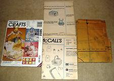 McCall's Crafts Pattern 5852 Infant Easter Gift Basket Uncut Patterns
