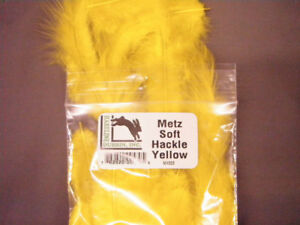 Metz Soft Hackle From Hareline USA - Per Packet * 2020 Stocks *