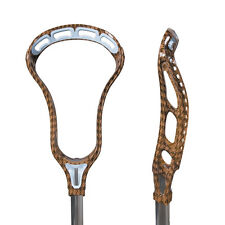 Brand New Reebok Rbk 10K men lax lacrosse head unstrung Brown / Carolina Blue