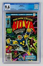 Nova #1 CGC 9.6 White Pages FIRST APPEARANCE & Origin 1st App WP NM+ Key Grail