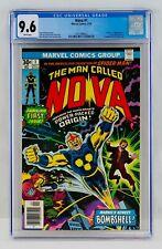 Nova #1 CGC 9.6 White Pages FIRST APPEARANCE & Origin 1st App WP NM+ Key Grail