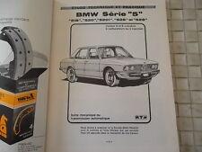 REVUE TECHNIQUE BMW SERIE 5 - 518 - 520 - 520i - 525 - 528