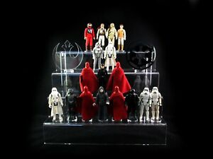 Action figure stand for Star Wars , Funko Pop , POTF , Kenner ,etc. 4 Step Tier