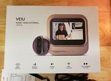 VEIU by Eques - Wireless Smart Video Door Bell, colour Cooper