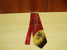"""Cravatta Elegante - Elegant tie """"Man"""" (GOLD CITY) 7,5 Cm"""