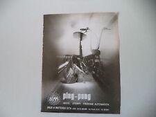 advertising Pubblicità 1973 DEMM PINGPONG PING PONG 50