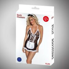 Body Pleasure - TL85 - Role Play - Maid - One Size Fits Most - Gift Box - Black