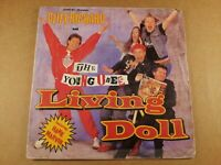 """Cliff Richard & The Young Ones : Living Doll : Vintage 7"""" Single from 1986."""