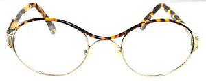 Vintage Mens & Womens Alaska Adventure 72 Oval X Bridge Aldo Navarro Eyeglasses