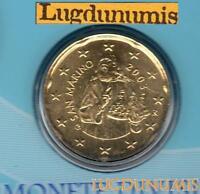 Saint Marin 2003 20 Centimes D'Euro BU FDC 70 000 exemplaires Provenant du BU RA
