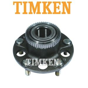 For Acura Integra Type R 97-01 FWD Rear Wheel Bearing & Hub Assembly Timken