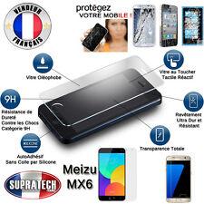 Protection d'Ecran en Verre Trempé Contre les Chocs pour Meizu MX6