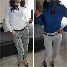 NEW Fashion Women's Ladies Girls Blouse regular size  long sleeves party, formal