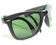 Ray-Ban USA Vintage B&L Folding Wayfarer W0670 Matte Ebony 5022 Xlnt Sunglasses