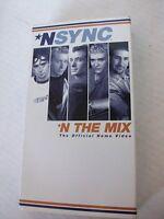 NSYNC, N THE MIX, VHS,  1998