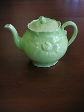 Vtg Light Green English Teapot As/Is Condition Music Box not working SEE PHOTOS