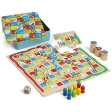 Snake And Ladders And Tic Tac Toe - Jigsaw Family Wooden Games Gift Toys 3 1