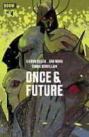 ONCE & FUTURE 4 JETPACK COMICS LAFUENTE EXCLUSIVE VARIANT BOOM STUDIOS