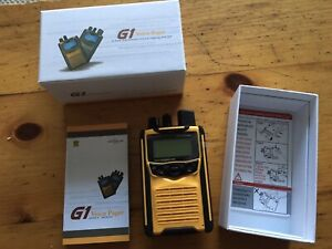 G1 Voice Pager UNICATION. NEW In box with free Charger, MODEL- AG185BX1-XEY6UN