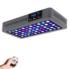 Viparspectra Timer Control 165W Led Aquarium Light For Coral Reef Grow Fish Tank