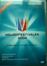 MELODIFESTIVALEN 2004 Sweden Eurovision MLDVD002 ~6h 15min Region 2 PAL 2DVD