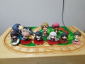 Danganronpa Mini Figures 1 & 2 Lot Hitachi Naruto Vocaloid Vesperia