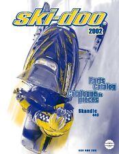 Ski-Doo parts manual catalog book 2002 Skandic 440F