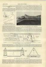 1921 Walker Weston Company New Method Making Concrete Roads Text Only