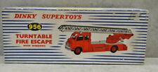 Dinky 956 Turntable Fire Escape Engine Bedford Cab Complete Near Mint Boxed