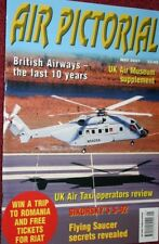 Air Pictorial Magazine 2001 May UK Air Taxi,Sikorsky S92,British World,Tu-114