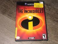 The Incredibles Nintendo Gamecube Complete CIB Authentic