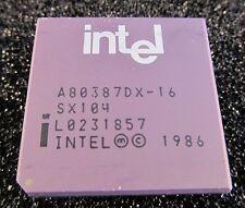 A80387 INTEL Mathe-Co-Prozessor 16MHz im 68Pin PGA Gehäuse  (A16/8860)