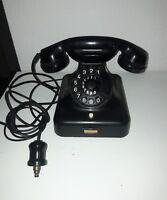 altes Telefon W48 mit Anschluss ab  1930 -Walzenanschluss-original